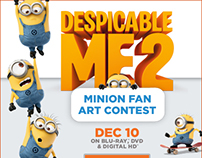 Despicable Me 2 Minion Fan Art Contest