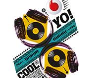 Vodafone Merchandising - Lorenzo Petrantoni