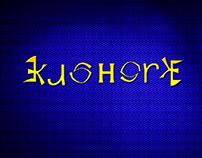 ambigram typography.