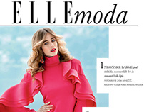 High-fashion story for ELLE Slovenia