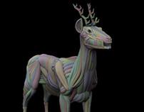 CG Deer. WIP
