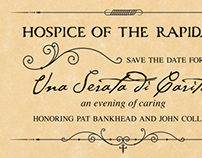 Hospice Gala: direct mail, facebook, email & banner