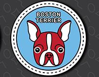 DOG BADGES (Short Snout Edition)