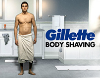 "GILLETTE ""BODY SHAVING"""