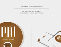 logo and name card
