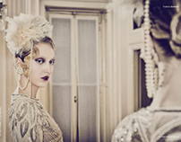 Great Gatsby, fashion editorial for Institute Magazine