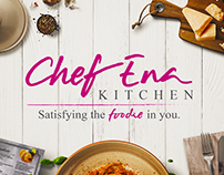 CHEF ENA KITCHEN PERSONAL CHEF | LOGO DESIGN