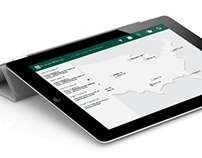 Education Calendar App User Interface