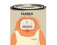 "Monstrously good paints ""FARBEX"""