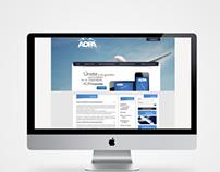 Pagina web AOPA