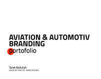 AVIATION&AUTOMOTIVE BRANDING PORTOFOLIO