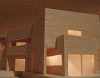 Model - Casa Vieira de Castro, Alvaro Siza