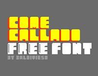 Come Callado Free Font