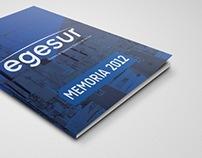 EGESUR Annual Report 2012/  Memoria 2012