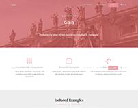 Gaia Bootstrap Template Pro