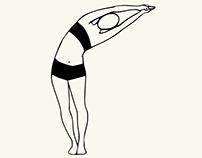 Yoga Drawings