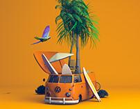 Volkswagen · Life needs a Driver