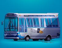 """Bus GM TDH 4519 in movie """"Speed"""""""