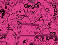 Atelier Franc spring / pumphlet design (2011)