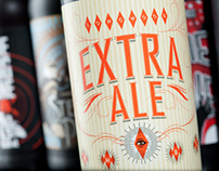 Extra Ale - Product Naming, Branding, Packaging Design