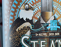 SteamPunk - Product Naming, Branding, Packaging Design