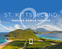 St. Kitts Island - Mobile design