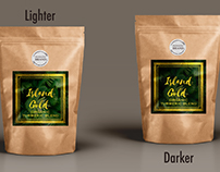 Branding, Packaging and Logo for Island Gold