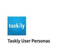Taskly User Personas
