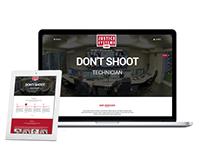 Website UI Re-Design and Development