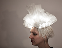 Paper Lantern Headpiece