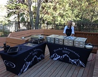 Dye-Sublimation - Spandex Table Covers