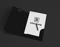 A H Latter logo design for your Business
