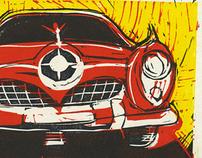 Linocut illustrations