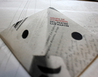 Brochure to the San Martín Theater Puppeteers Group