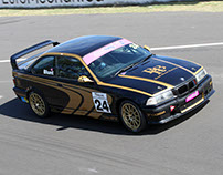Brad Blunt Racing M3 - IPRA Livery