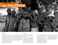 All For Africa/Knockout Poverty