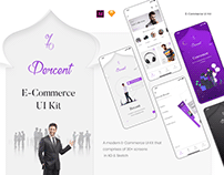 Percent - E Commerce UI Kit