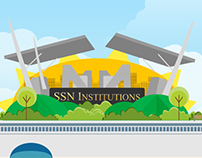 SSN College of Engineering - Illustration