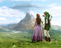 The Zelda Project | Matte Painting