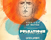 Gatien Lapointe Exhibit ~ Poster design