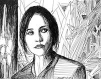 Felicity Jones(Jyn Erso)