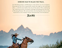 That's WY tourism campaign