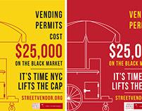GRAPHIC DESIGN: Street Vendor Project