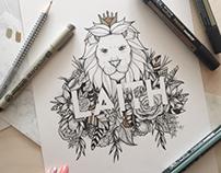 Wildlife Name Illustration