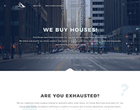 Real Estate Investor Landing Page
