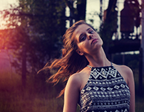 Natural Portraits with Sunset Light
