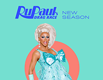 RuPaul's Drag Race / Season 8 Keyart