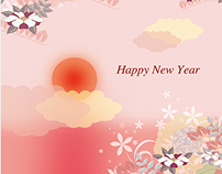 UNICEF Japan New year cards