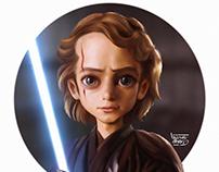 Anakin stylized