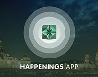 Happenings App - Visual Identity - Concept